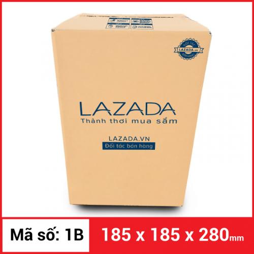 Thùng Carton gói hàng kích thước 185x185x280mm-1