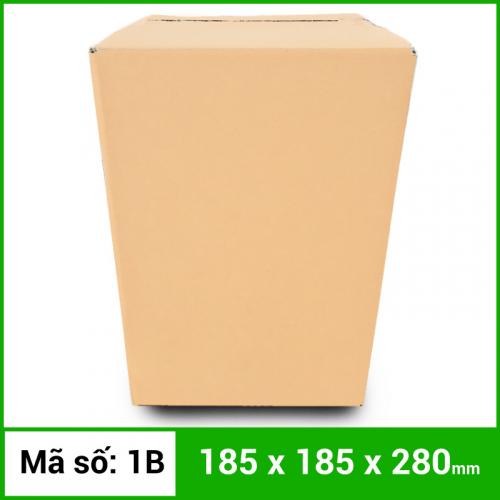 Thùng Carton gói hàng kích thước 185x185x280mm không in-3