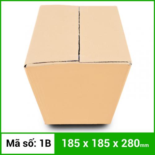 Thùng Carton gói hàng kích thước 185x185x280mm không in-2