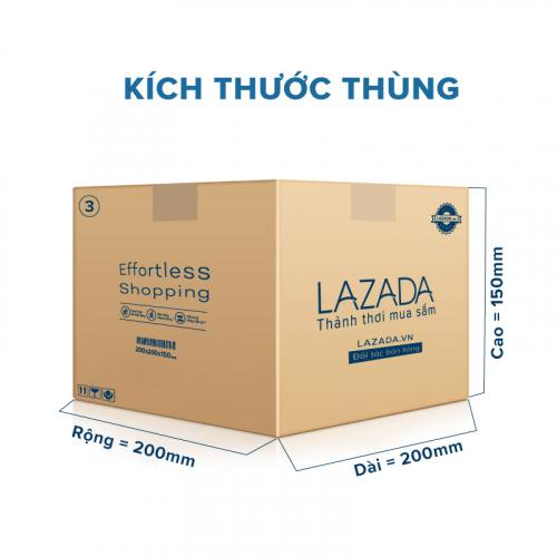 Thùng Carton gói hàng kích thước 200x200x150mm-4