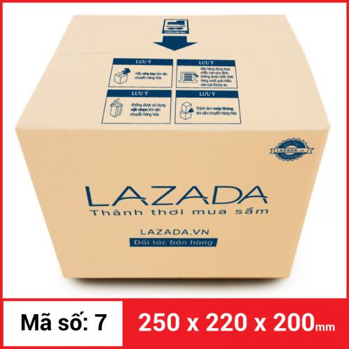 Thùng Carton gói hàng kích thước 250x220x200mm