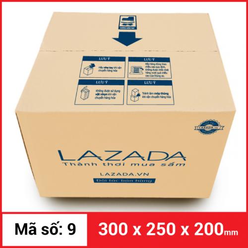 Thùng Carton gói hàng kích thước 300x250x200mm