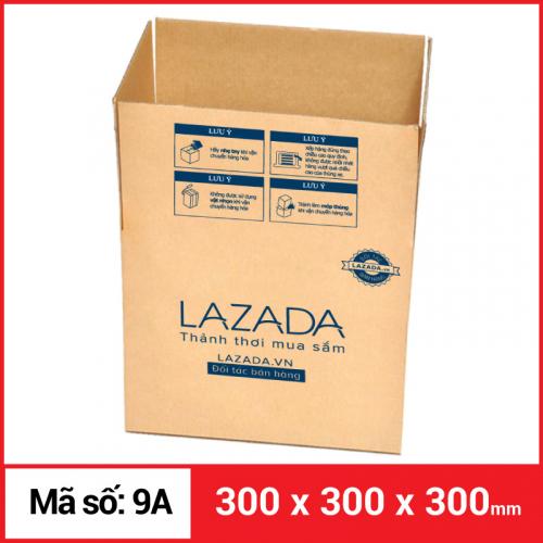 Thùng Carton gói hàng kích thước 300x300x300mm-3