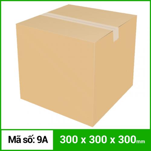 Thùng Carton gói hàng kích thước 300x300x300mm không in
