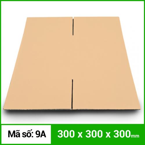 Thùng Carton gói hàng kích thước 300x300x300mm không in-2