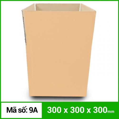 Thùng Carton gói hàng kích thước 300x300x300mm không in-4