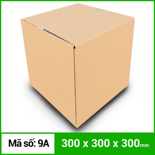 Thùng Carton gói hàng kích thước 300x300x300mm không in-5