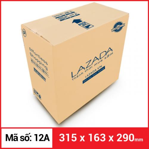 Thùng Carton gói hàng kích thước 315x163x290mm