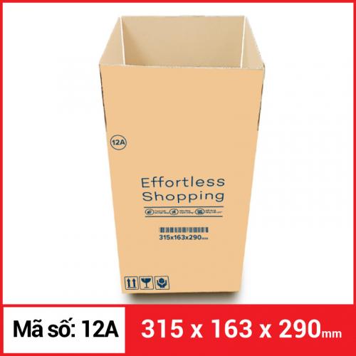 Thùng Carton gói hàng kích thước 315x163x290mm-4