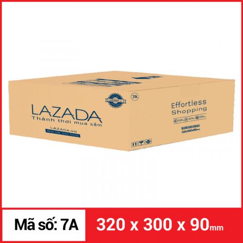 Thùng Carton gói hàng kích thước 320x300x90mm