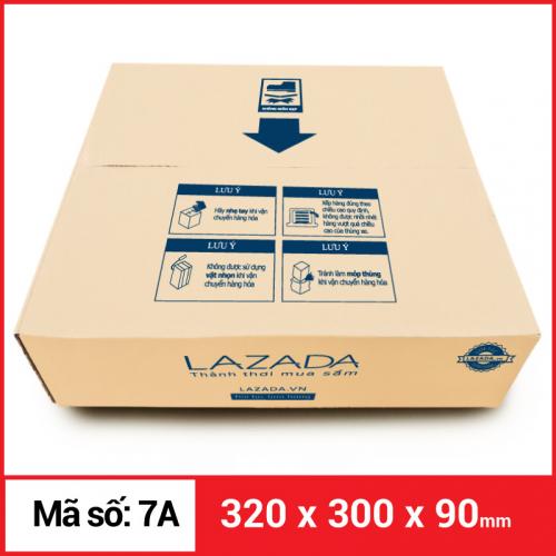 Thùng Carton gói hàng kích thước 320x300x90mm-1