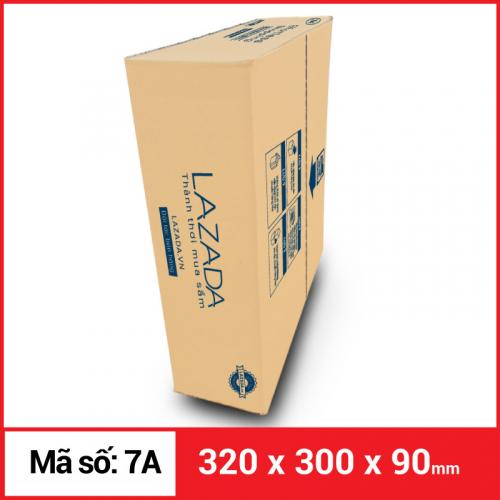 Thùng Carton gói hàng kích thước 320x300x90mm-5