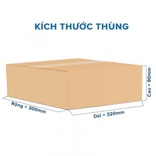 Thùng Carton gói hàng kích thước 320x300x90mm không in-1