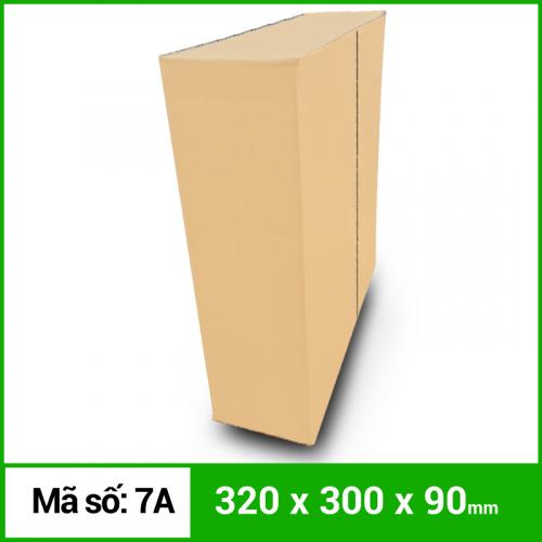 Thùng Carton gói hàng kích thước 320x300x90mm không in-3
