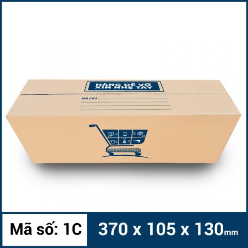 Thùng Carton gói hàng kích thước 370x105x130mm -1