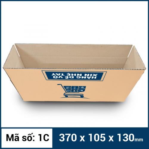 Thùng Carton gói hàng kích thước 370x105x130mm -4