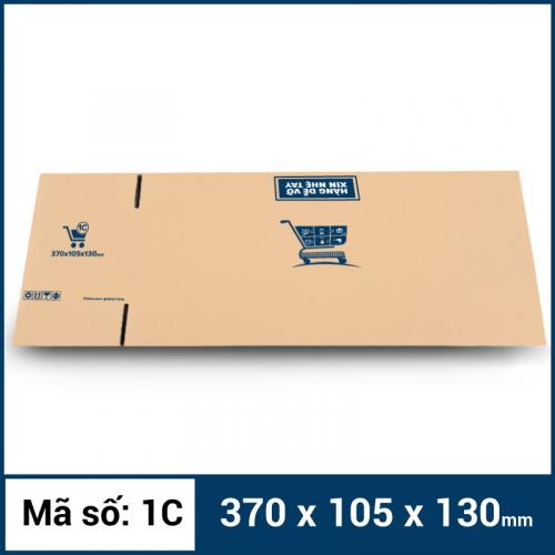 Thùng Carton gói hàng kích thước 370x105x130mm -6