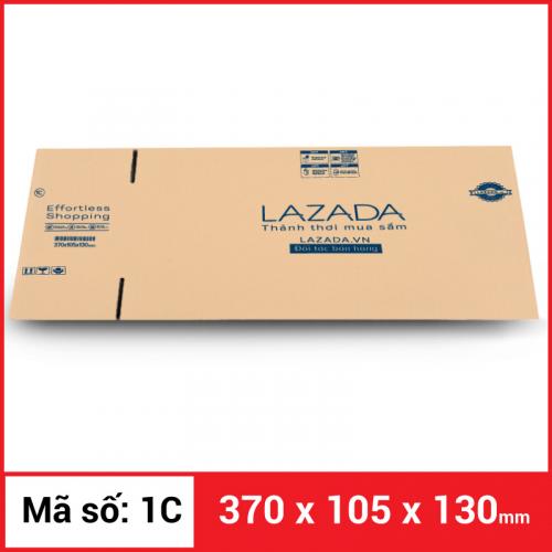 Thùng Carton gói hàng kích thước 370x105x130mm-4