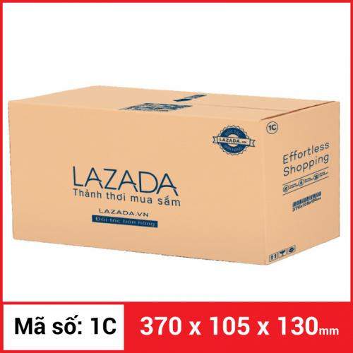 Thùng Carton gói hàng kích thước 370x105x130mm-3