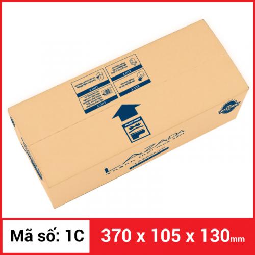 Thùng Carton gói hàng kích thước 370x105x130mm-2