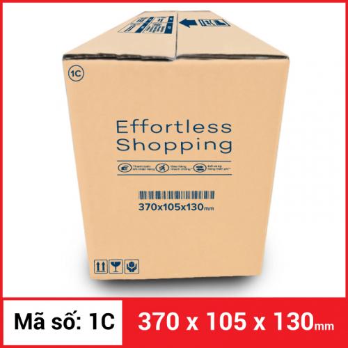 Thùng Carton gói hàng kích thước 370x105x130mm-1