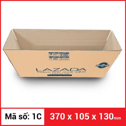 Thùng Carton gói hàng kích thước 370x105x130mm-5