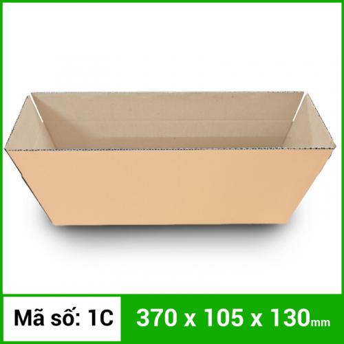Thùng Carton gói hàng kích thước 370x105x130mm không in-5