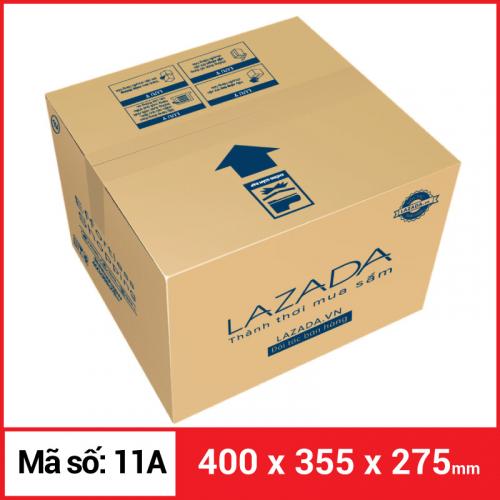 Thùng Carton gói hàng kích thước 400x355x275mm-5