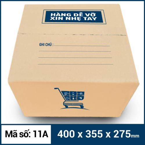 Thùng Carton gói hàng kích thước 400x355x275mm mẫu giỏ hàng