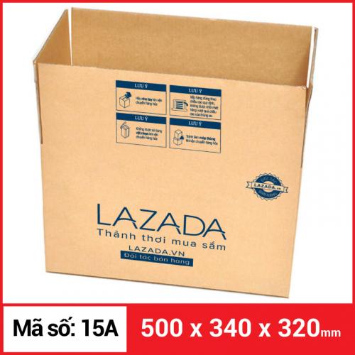 Thùng Carton gói hàng kích thước 500x340x320mm-1