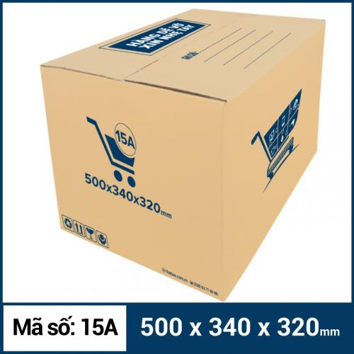 Thùng Carton gói hàng kích thước 500x340x320mm mẫu giỏ hàng-4