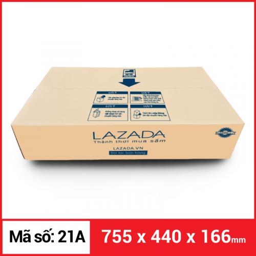 Thùng Carton gói hàng kích thước 755x440x166mm