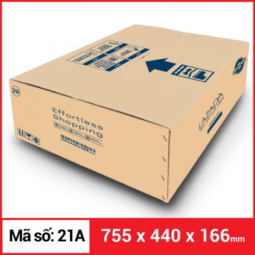 Thùng Carton gói hàng kích thước 755x440x166mm-3