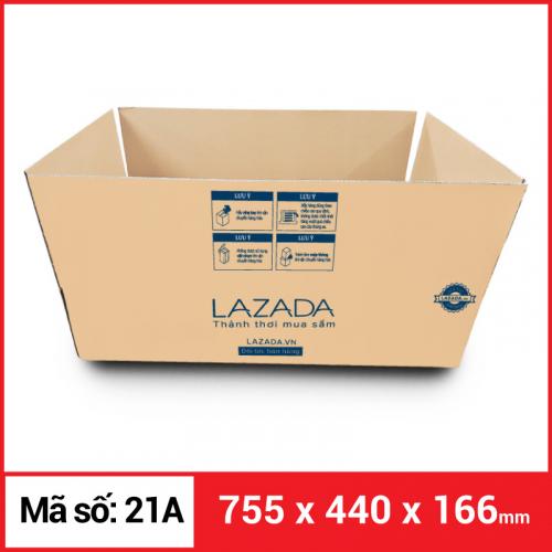 Thùng Carton gói hàng kích thước 755x440x166mm-1