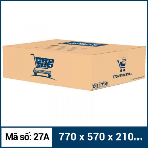 Thùng Carton gói hàng kích thước 770x570x210mm mẫu giỏ hàng-4