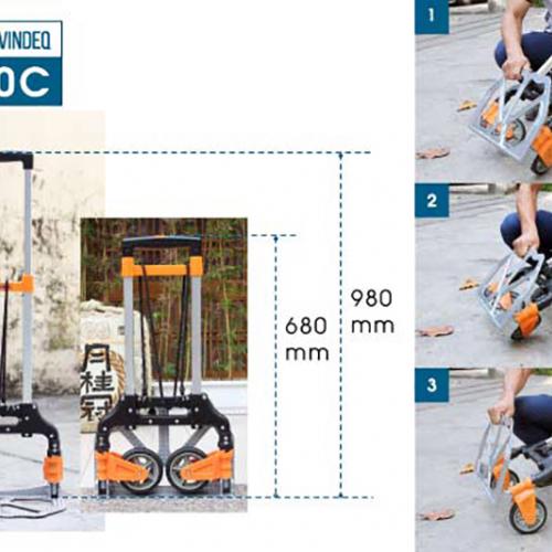 Xe Đẩy Hàng 2 Bánh Rút Gọn ADVINDEQ TL-80C-1