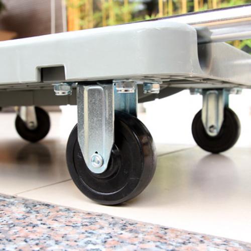 Xe đẩy hàng 4 bánh gấp siêu gọn ADVINDEQ AV120-2