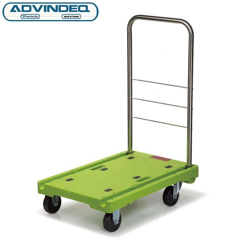 Xe đẩy hàng 4 bánh gấp siêu gọn ADVINDEQ AV230-1
