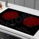 Bếp hồng ngoại đôi cảm ứng CHEFS EH-DHL321-1