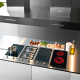 Bếp hồng ngoại đôi cảm ứng DOMINO KAFF KF-330DC-2