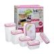 Bộ 6 hộp nhựa Homio PL 13-002-1