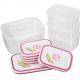 Bộ 6 hộp nhựa Homio PL 13-002-3