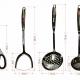 Bộ dao kéo làm bếp 11 món Bass IN.01-004-2