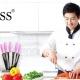 Bộ dao kéo làm bếp 6 món Bass IN.01-005-1
