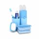 Bộ dụng cụ chứa vật dụng cá nhân đa năng AAPEC E1403-4