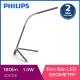 Đèn bàn Philips LED Geometry 66046 1.5W (Đen)