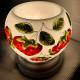 Đèn xông tinh dầu gốm Bát Tràng - Dâu Tây-4