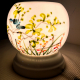 Đèn xông tinh dầu gốm Bát Tràng - Đôi Chim Xanh-4