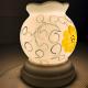Đèn xông tinh dầu gốm Bát Tràng - Hoa Vàng-2