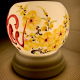 Đèn xông tinh dầu gốm Bát Tràng - Lộc Vàng-2